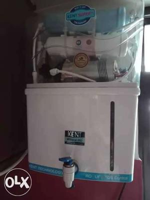 Kent Ro water purifier 2 year old in working