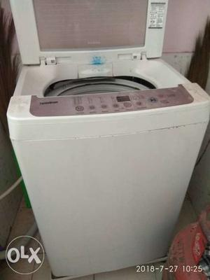 Lg fully automatic top load machine with almost
