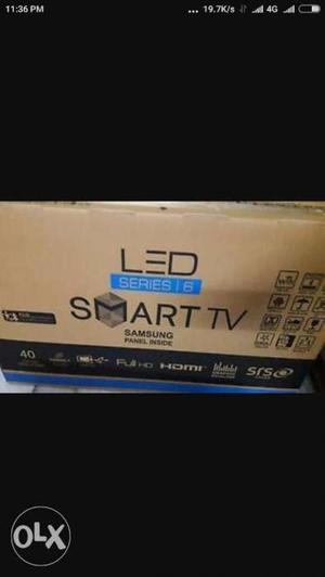 New Seal Pack 32 inch smart imported Led Tv With 2 Year