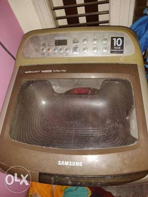 Samsung top load washing machine. In very good