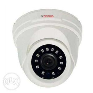 White And Black CP Plus Dome Camera
