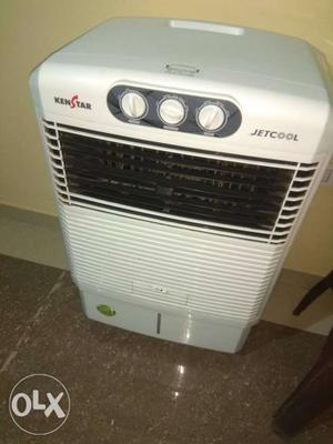 White And Black Ken Star Portable Air Cooler