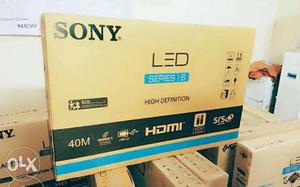 "Brand New Sony 40"" Led TV Full HD With bill or Warranty Best"