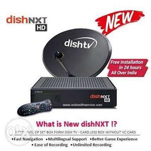 Dish tv hd Connection ! 1 month free pack ! Full