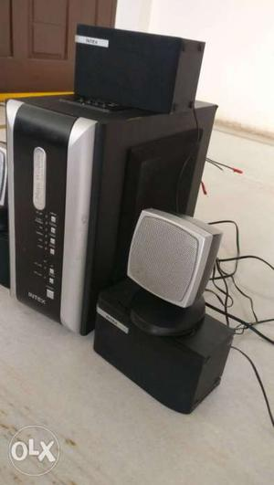 Intex 5.1 channel speaker set. 01yr old USB MP3