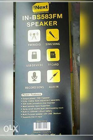 Original Karaoke Microphone Mic and Multi Purpose