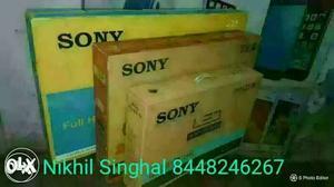 Sony led with Gst Bill Sony Custom Bill Original