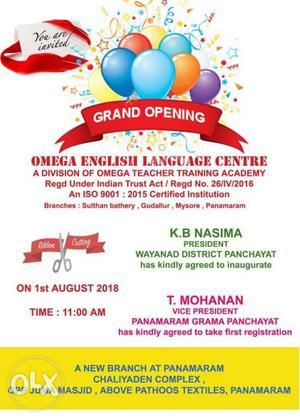 Omega Teacher Training Academy New Branch At