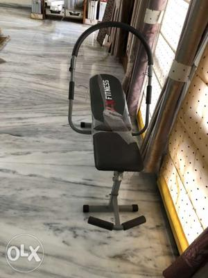 Black And Gray AB Bench