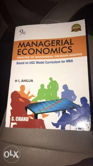 Brand New Managerial Economics Book..in Unused condition