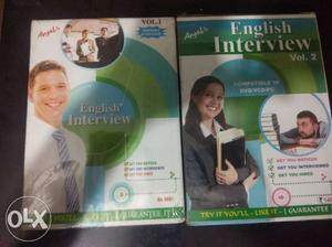 CD's to help you clear an english interview. you