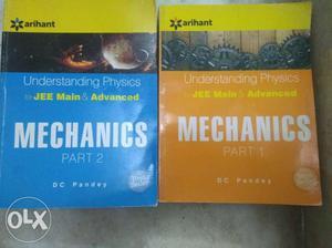 D.C.Pandey Mechanics Part 1 And 2 Books