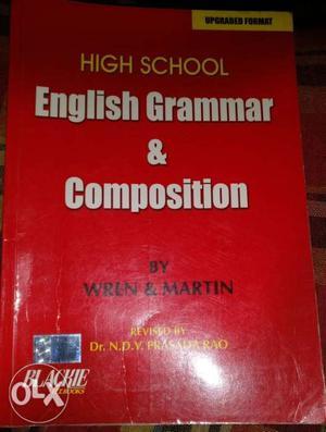 """English grammar book """"High school English grammar"""