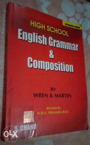 High School English Grammar & Composition By Wren