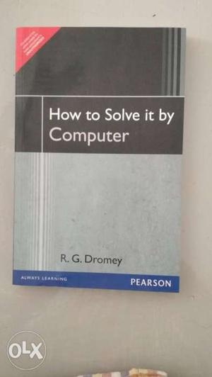 How To Solve It By Computer Book By RG Dromey