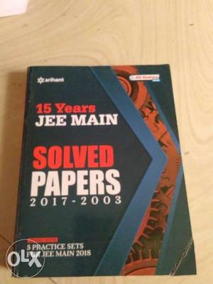 Jee main solved papers