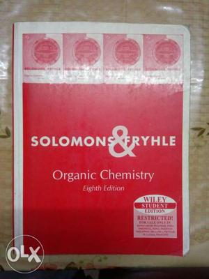 Organic chemistry book for preparation of