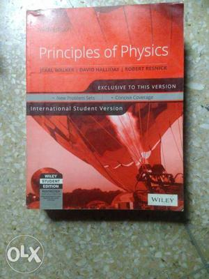 Principles Of Physics Book(10th editon)