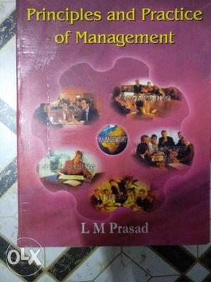 Principles and practice of management by LM Prasad