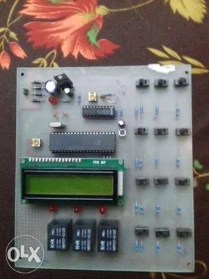 We make electrical and electronics projects on