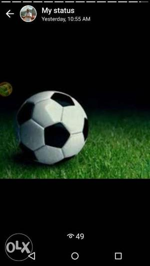 White And Black Soccer Ball Screenshot