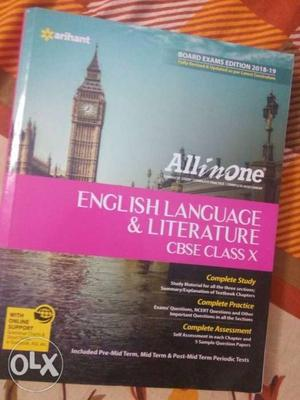 All In One English Language & Literature Learning Book