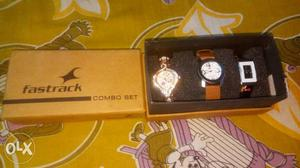 New set of 3 Fastrack women's watches.. combo set