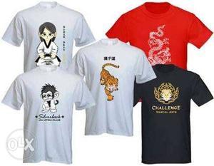 Tshirts printing & menufactre