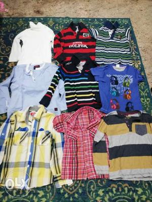 Shirts Kurt's and t shirts for boys 4 to 5 years