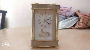 A very nice vintage look table clock with alarm
