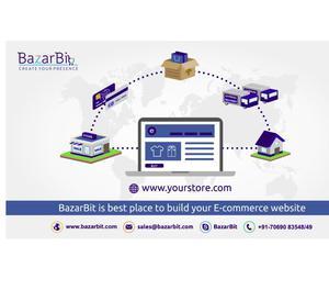 BazarBit - ecommerce website builder Ahmedabad