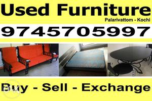 Used Furniture Buy and Sell (All Types) Palarivattom - Kochi