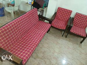 Wooden sofa for sale water proof with new cloth