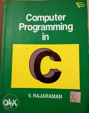 Computer Programming In C Book By V. Rajaraman