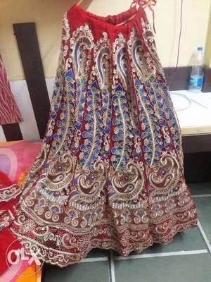 Designer wedding lehenga with elegant designs for