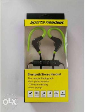 Wireless Bluetooth sealed headset with mic...