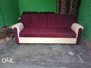 Sofa set with good quality form and cloth call to
