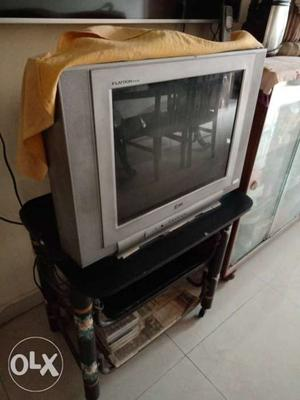"""LG TV with remote 24"""" in working condition."""