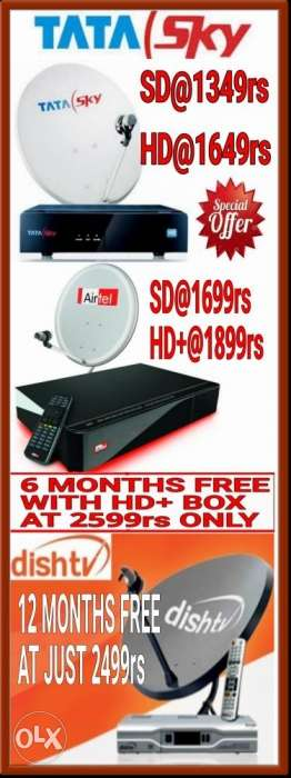 Offer!!New Dth Connections at Just rs Only.Hurry Up!!
