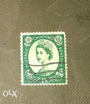 Old UK revenue stamp for sale