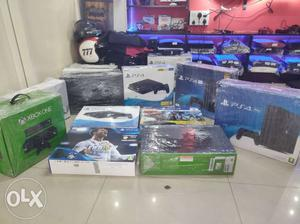 PS4 pro Xbox one 1 year warranty cash on delivery. Best