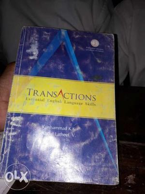 Transactions: Essential English Language Skills Book