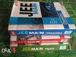 Jee Main Preparation Book Set Of Three Subject