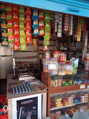 Urgent shop for sale,Good running shop opposite