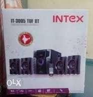 Black Intex Home Theater Speaker System Box