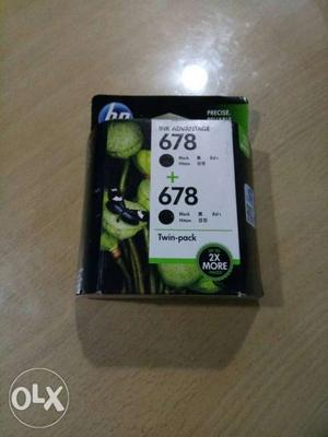 HP Black Ink Cartridge Twin-pack