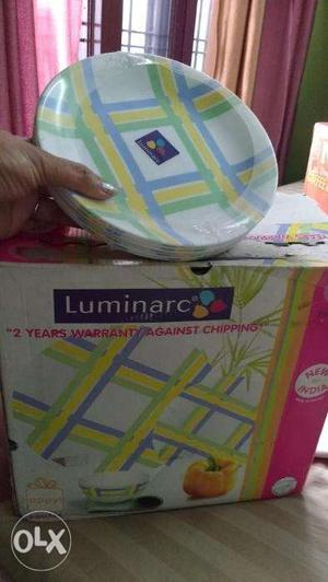 Luminarc Dinner Set Brand New