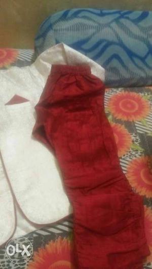 Sherwani and coat pant for 5 to 6 years kids