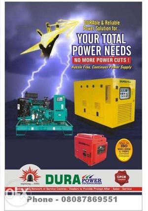 Super-Silent Self-Start Diesel Generator Set From 3.5 Kva to