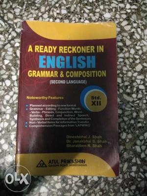 A Ready Reckoner In English Grammar & Composition Book